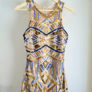 HP! Sequin Party Dress